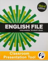 English File 3rd edition Intermediate Student's Book Classroom Presentation Tool
