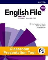 English File 4th edition Beginner Student's Book Classroom Presentation Tool