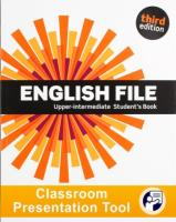 English File 3rd edition Upper-Intermediate Student's Book Classroom Presentation Tool